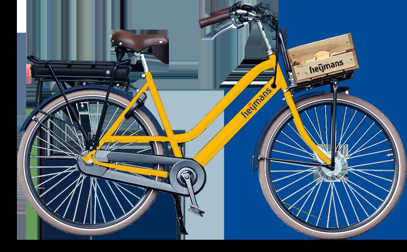 E-bike voorwielmotor voor Heijmans