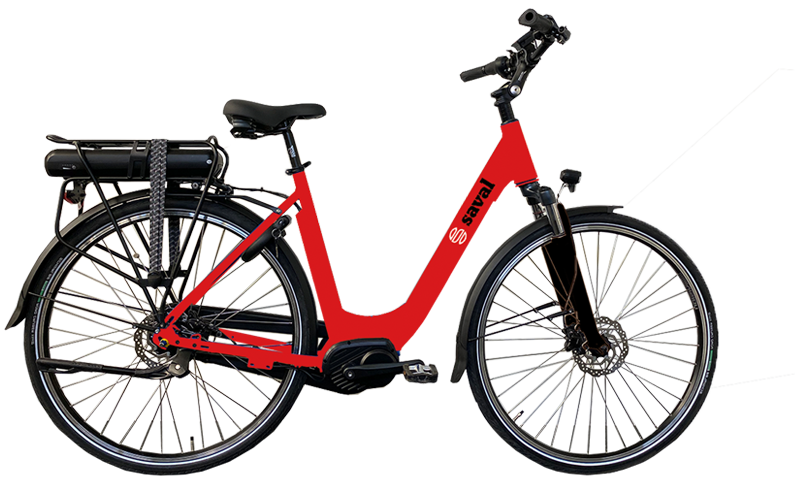 E-bike middenmotor Saval